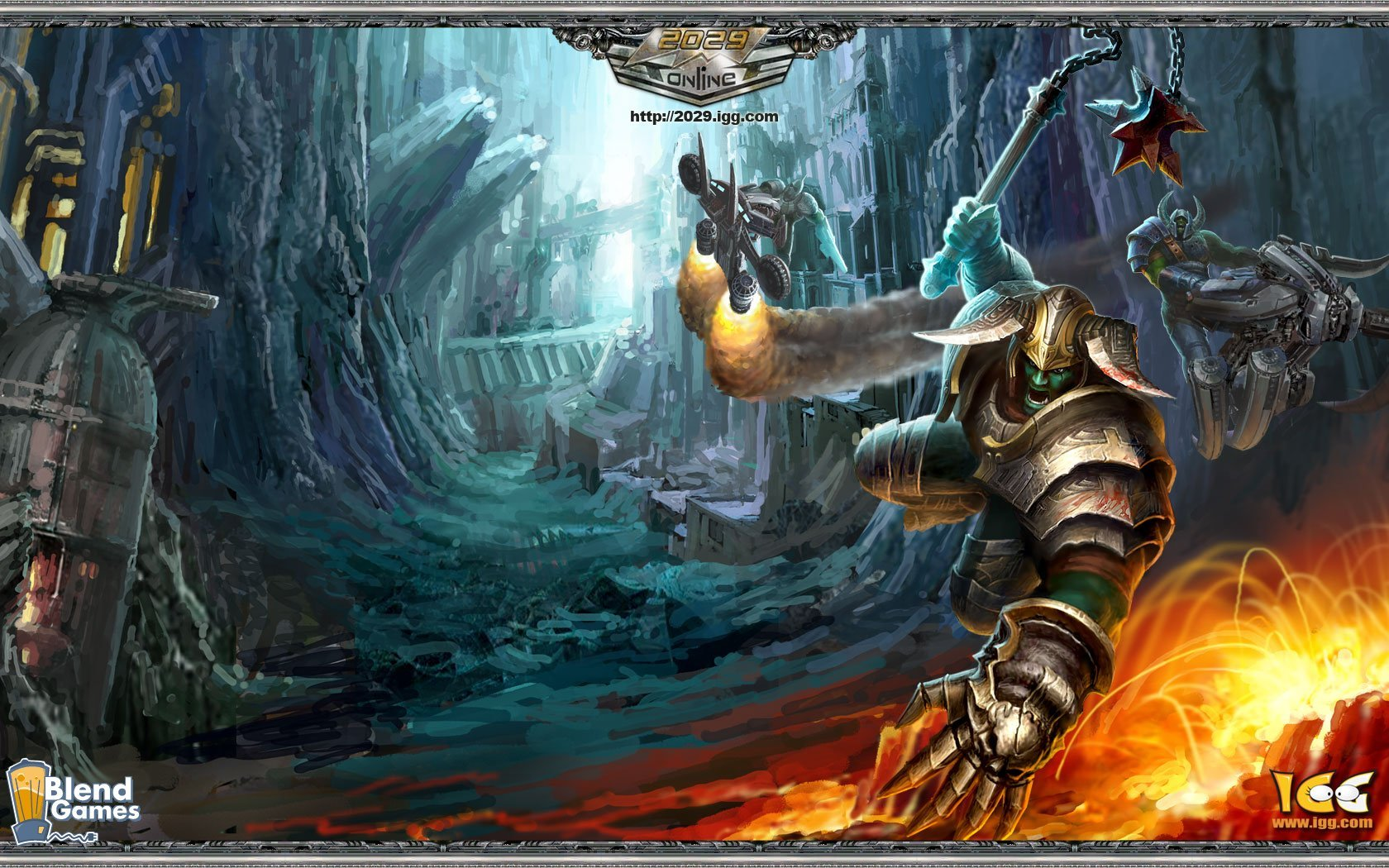 IGG Interview: 2029 Online Is Like Diablo And WoW #6490