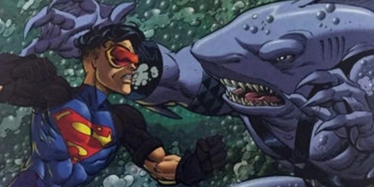 Superboy and King Shark