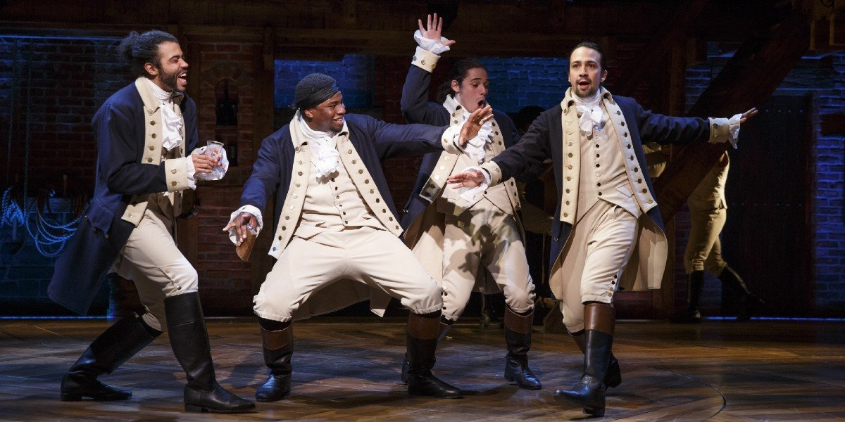 The Cast of Hamilton