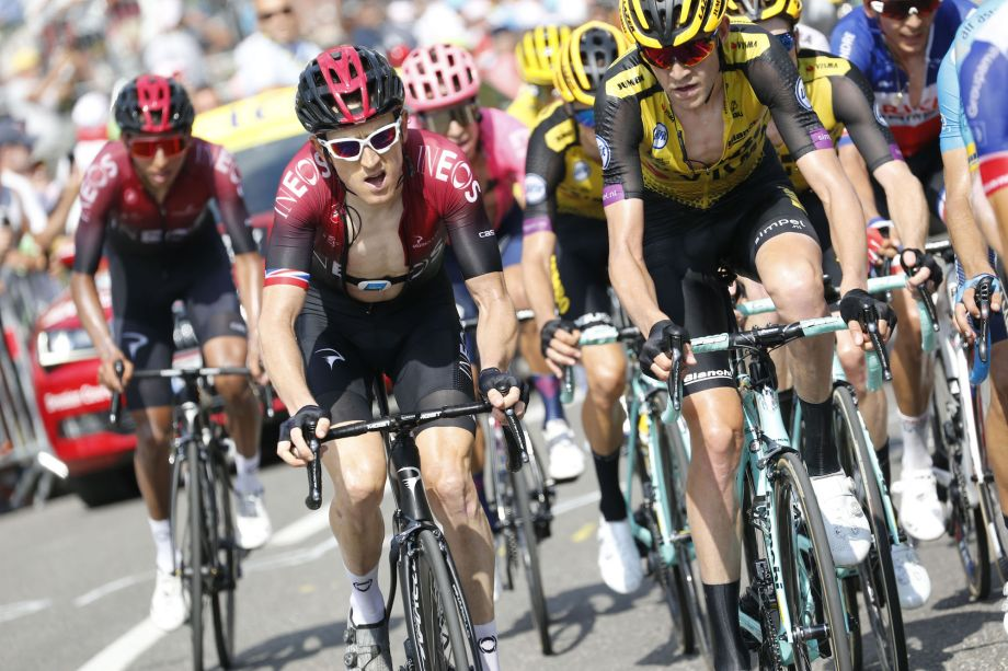 Geraint Thomas left disappointed after losing time on Col du Tourmalet