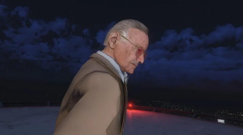 GTA 5 mods: Stan Lee