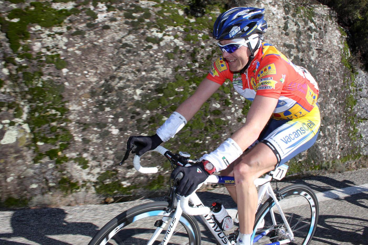 Borut Bozic, Etoile de Besseges 2010, stage 4