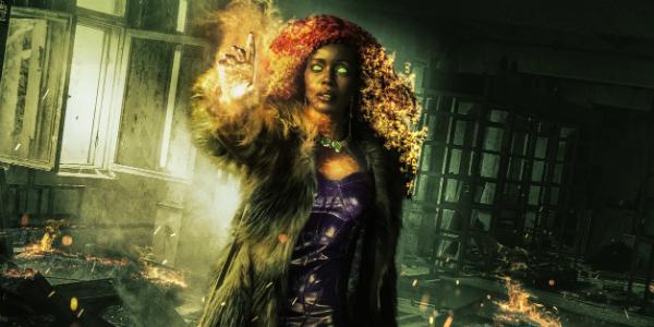 Titans Anna Diop Starfire DC Universe