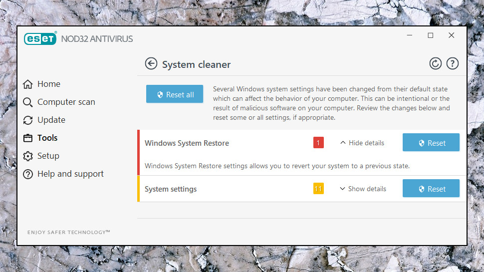 NOD32 System Cleaner