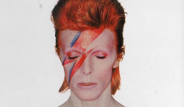 David Bowie Aladdin Sane album cover 1973