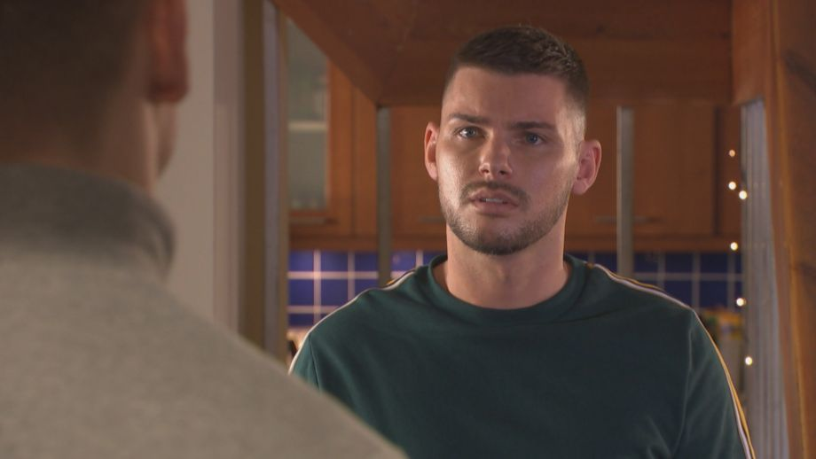 Ste Hay and Sid Sumner in Hollyoaks