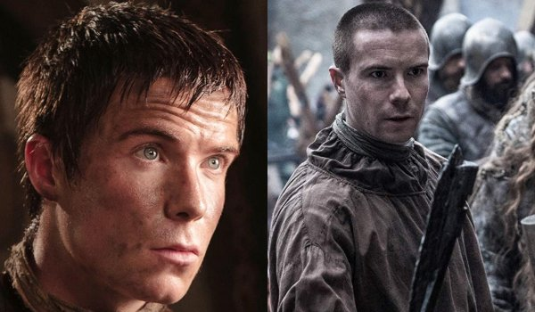 Game of Thrones Gendry Then and Now