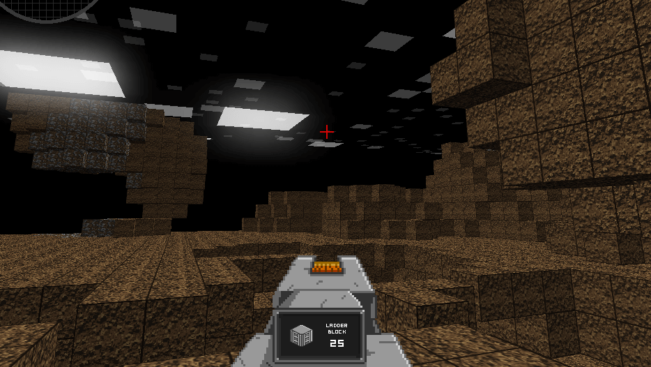 Zachtronics' Infiniminer was the inspiration for Minecraft's blocky structure