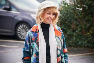 Sue Holderness as Estelle in EastEnders