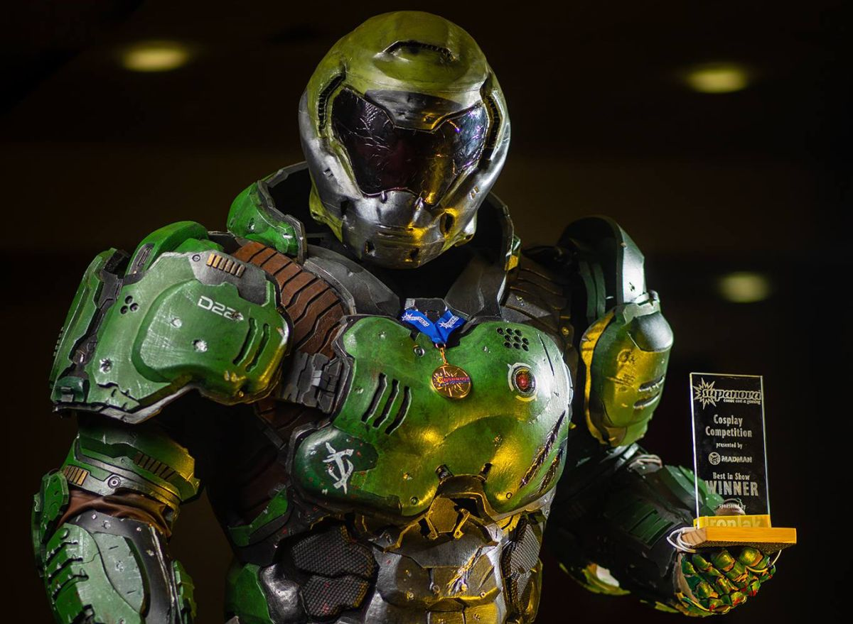 Meet the man inside this incredible Doom cosplay