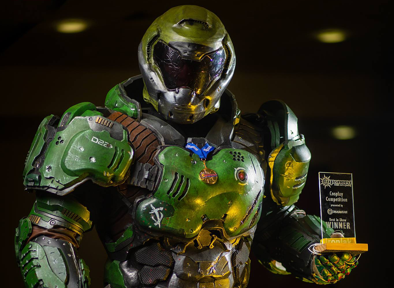 Meet The Man Inside This Incredible Doom Cosplay Pc Gamer
