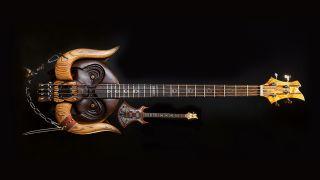 the Lemmy and Motorhead bass guitars