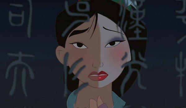 Disney's Mulan reflection moment