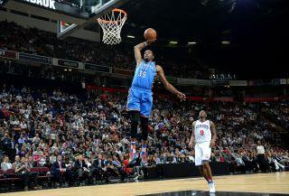Basketball – NBA Global Games Manchester 2013 – Oklahoma City Thunder v Philadelphia 76ers – Phones4 u Arena