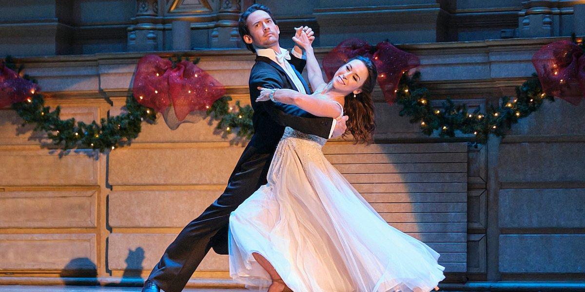 christmas waltz finale dance will kemp lacey chabert hallmark 2020