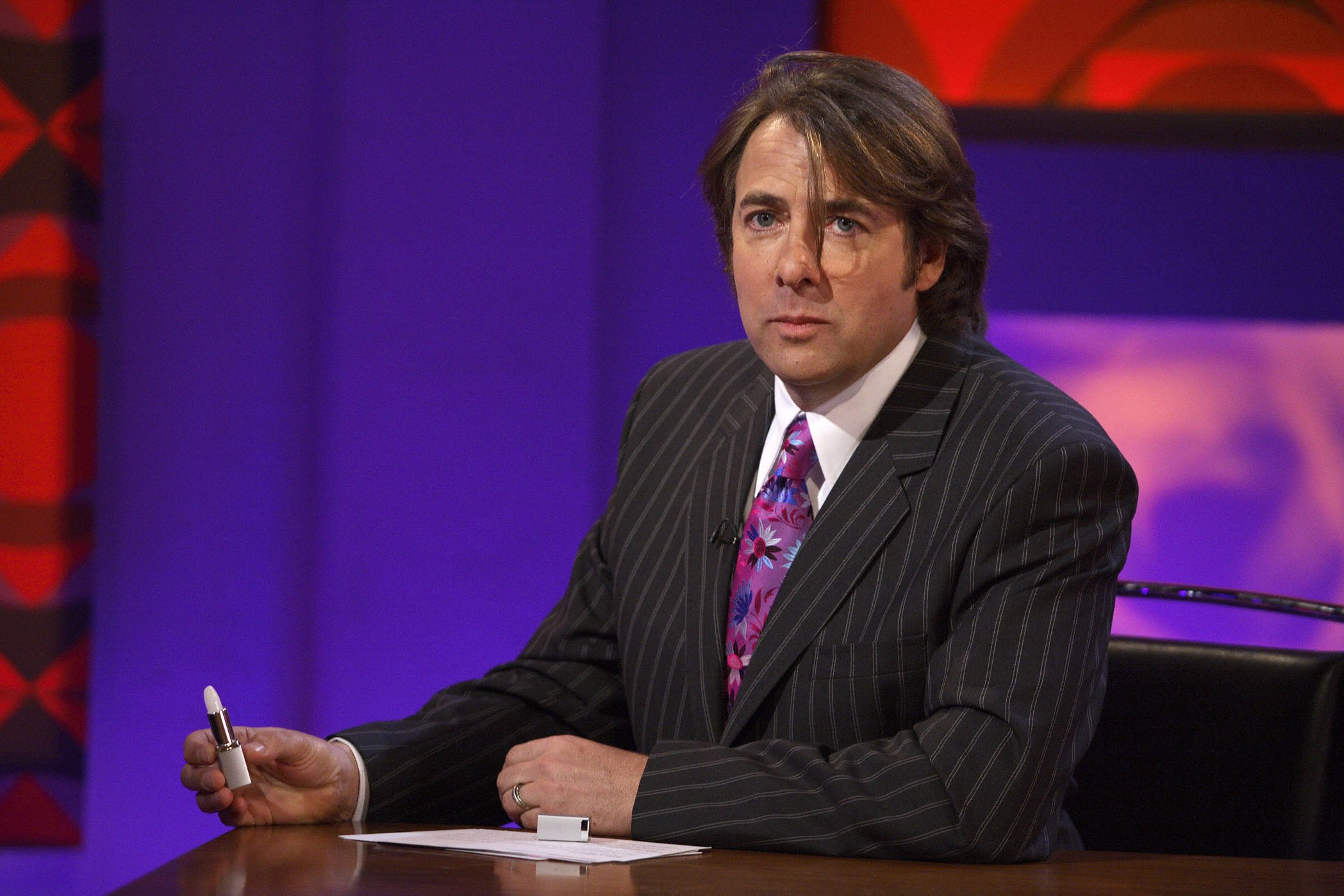 Jonathan Ross is back from his ban... almost