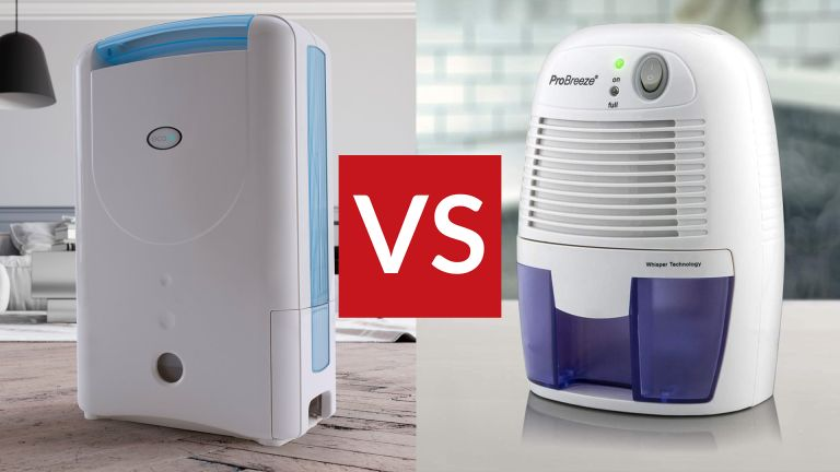 EcoAir DD1 Simple Desiccant vs Pro Breeze 500 ml Compact Mini Dehumidifier: which should you buy?