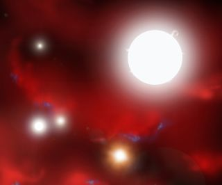 Conditions for Universe's First Stars Recreated In Lab