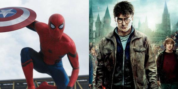 Harry Potter Spider-Man