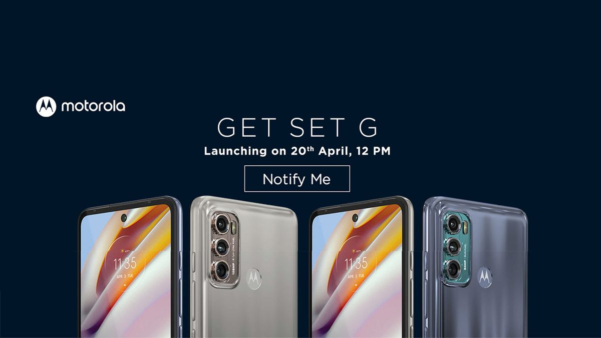 Moto G40 Fusion and Moto G60 launch set for April 20