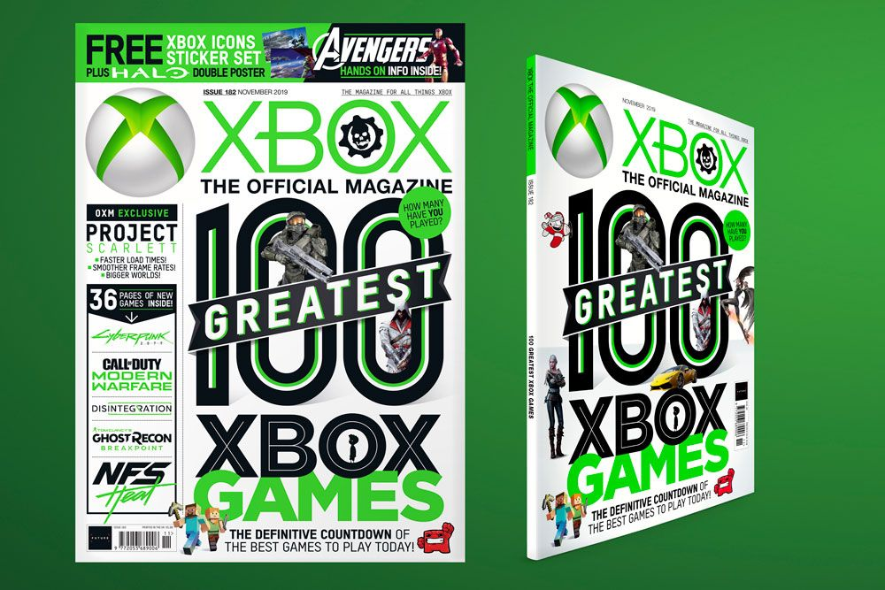 Official Xbox Magazine celebrates the 100 greatest Xbox games you can play today in this month's issue