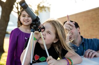 girl scouts seti badges space science