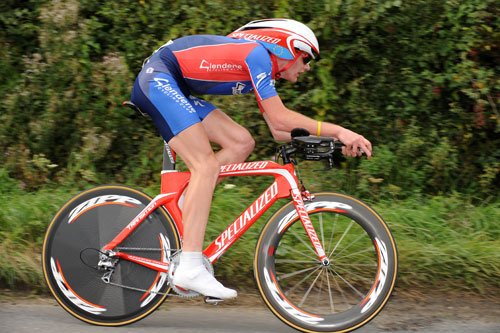 Joe Perrett, British Time Trial Championships 2009