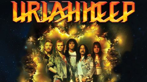 Cover art for Uriah Heep - Raging Through The Silence