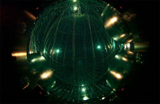 Borexino neutrino detector