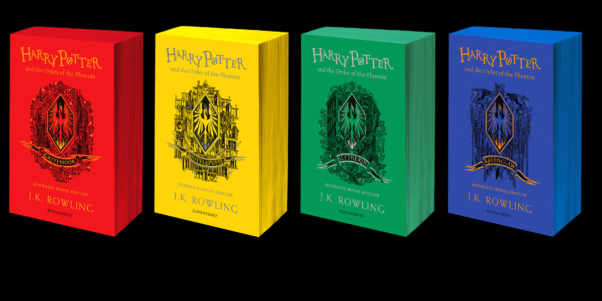 The Order of the Phoenix Hogwarts House Editions