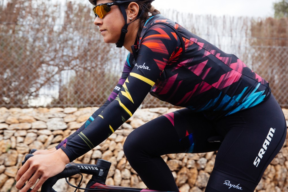 fdc80aa2f7c When Canyon-SRAM launched their new kit late last year we could hardly  belive our eyes. In a world where cycling kits have become drab and boring,  ...