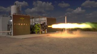 Firefly Space Systems Rocket Test