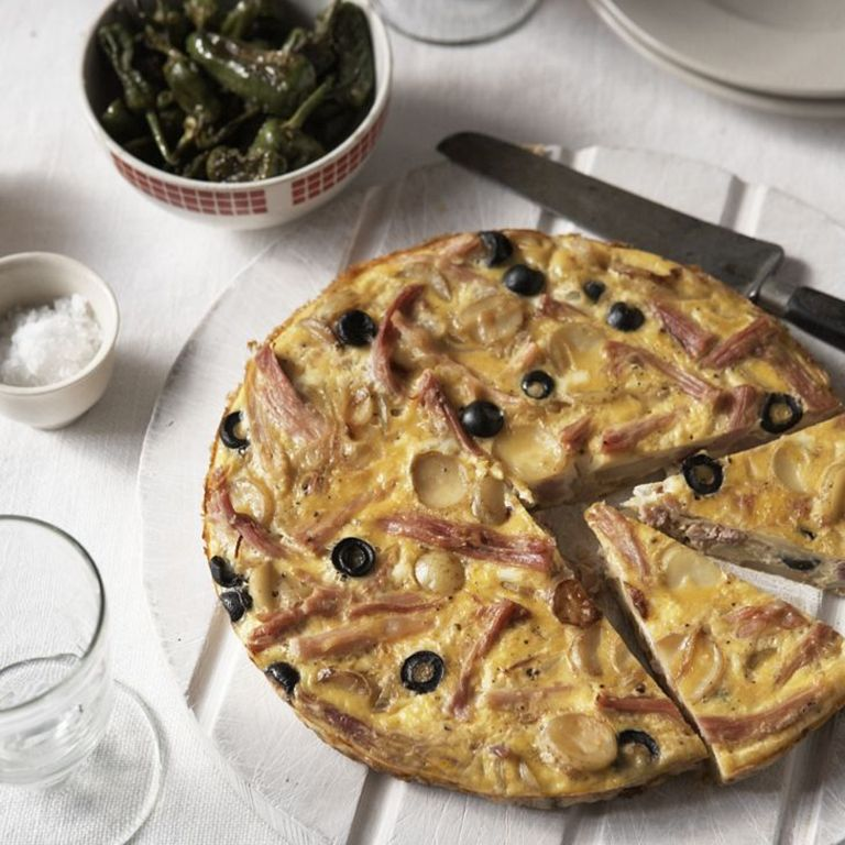 Ham and Olive Tortilla Recipe-Tortilla recipes-recipe ideas-new recipes-woman and home