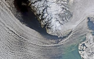 Earth From Space: Scandinavian Snows