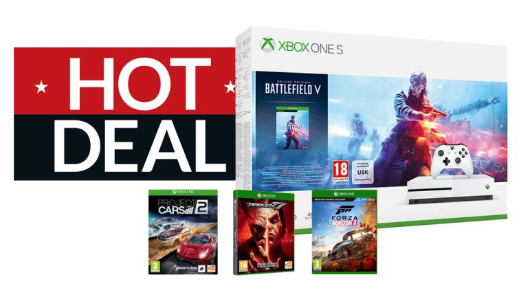 Xbox One S deal Battlefield V Tekken 7 Forza Horizon 4 Project Cars 2