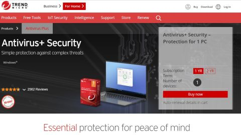 Trend Micro Antivirus+ Security review | Creative Bloq