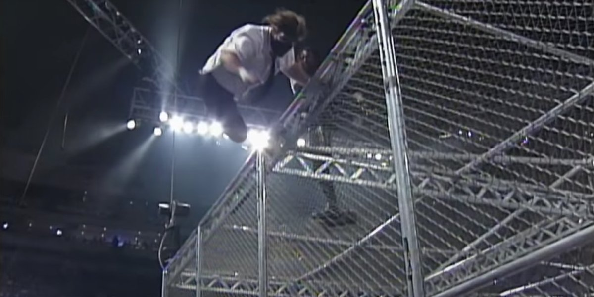 Mankind and The Undertaker at King Of The Ring 1998