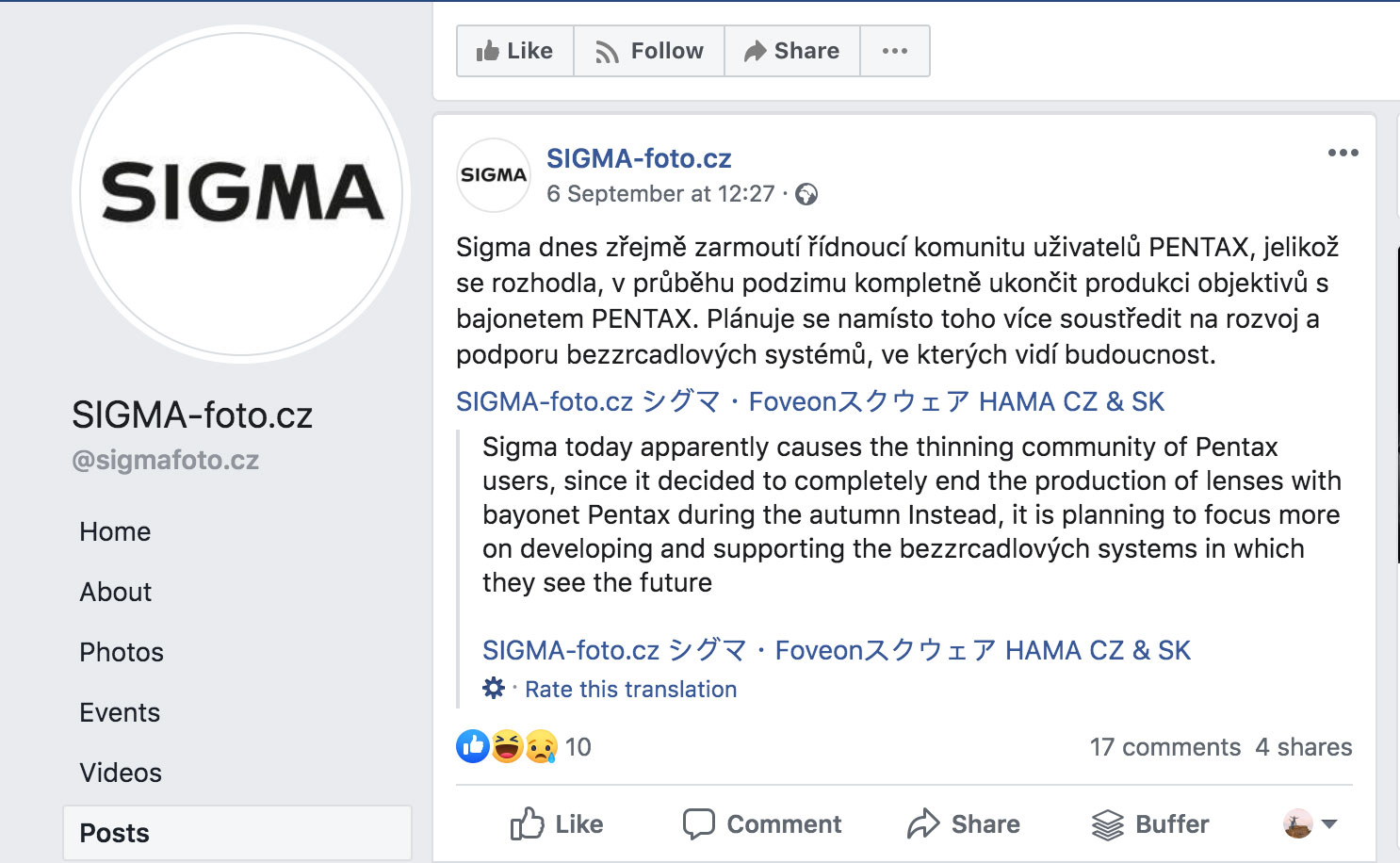 Bad news for Pentax users: Sigma to end production of Pentax K-mount lenses | Digital Camera World