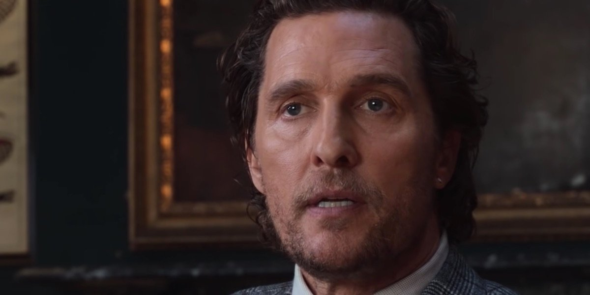 Matthew McConaughey in The Gentlemen