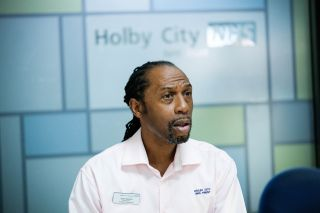 Tony Marshall returns to Casualty for the medical drama's 35th anniversary!