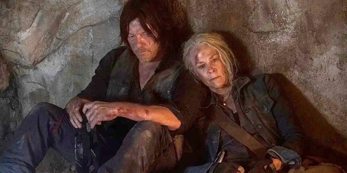 The Walking Dead Season 10 midseason premiere Daryl and Carol AMC