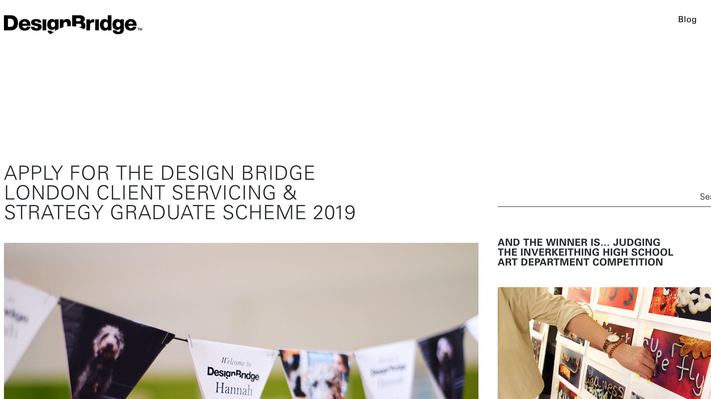 The DesignBridge site