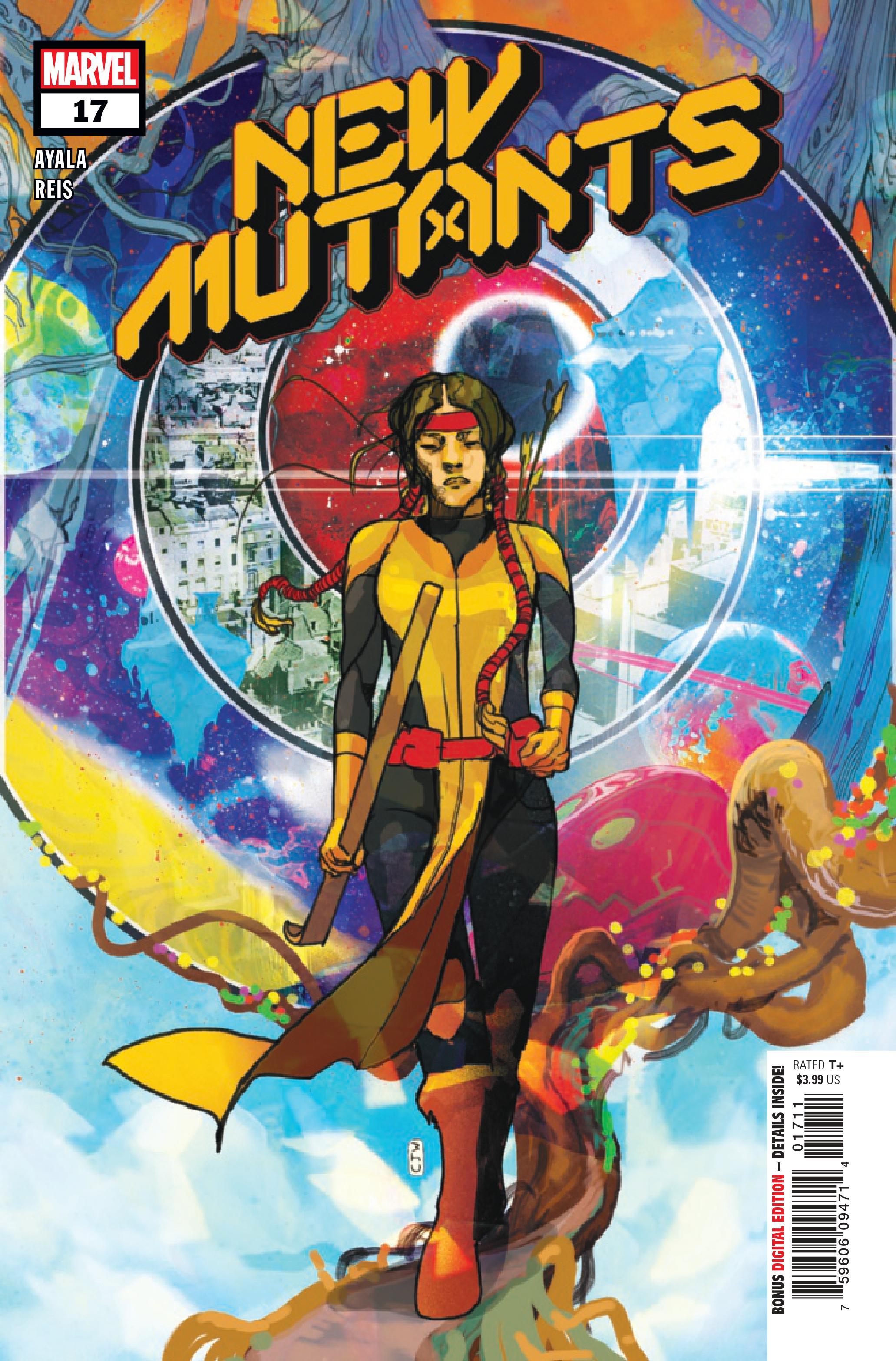 Portada de nuevos mutantes n. ° 17
