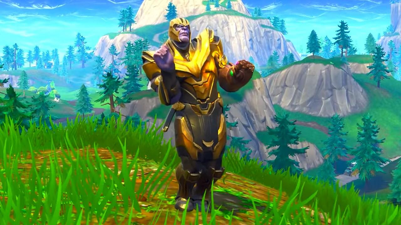 Fortnite S Dancing Thanos Meme Makes You Wonder If Marvel Really