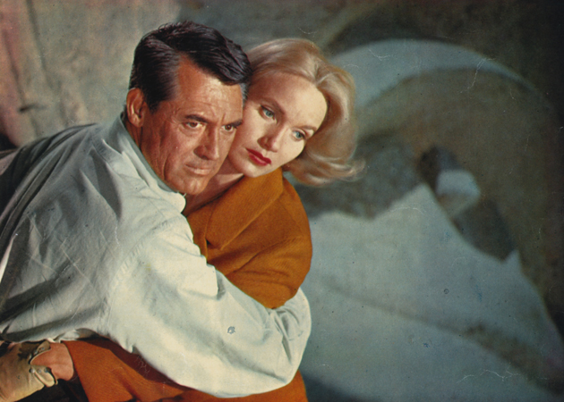 North by Northwest Cary Grant Eva Marie Saint