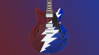D'Angelico Premier Grateful Dead DC