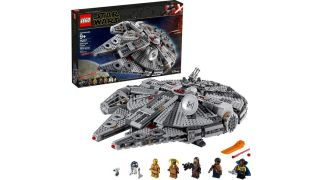The Lego Star Wars: The Rise of Skywalker Millennium Falcon.