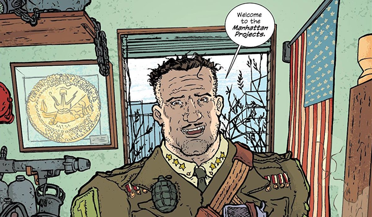 The Manhattan Projects Image Comics
