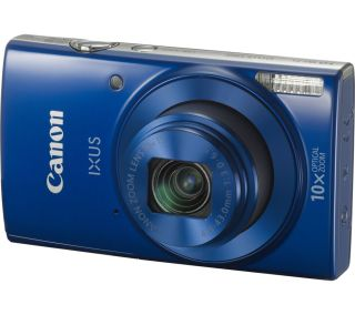 Blue Canon IXUS 190 camera