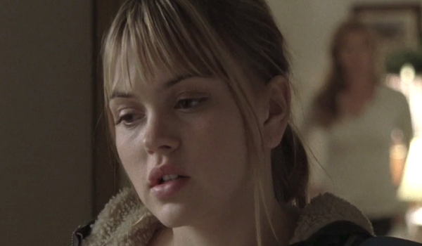 Julie Taylor in a Season 1 episode of Friday Night Lights